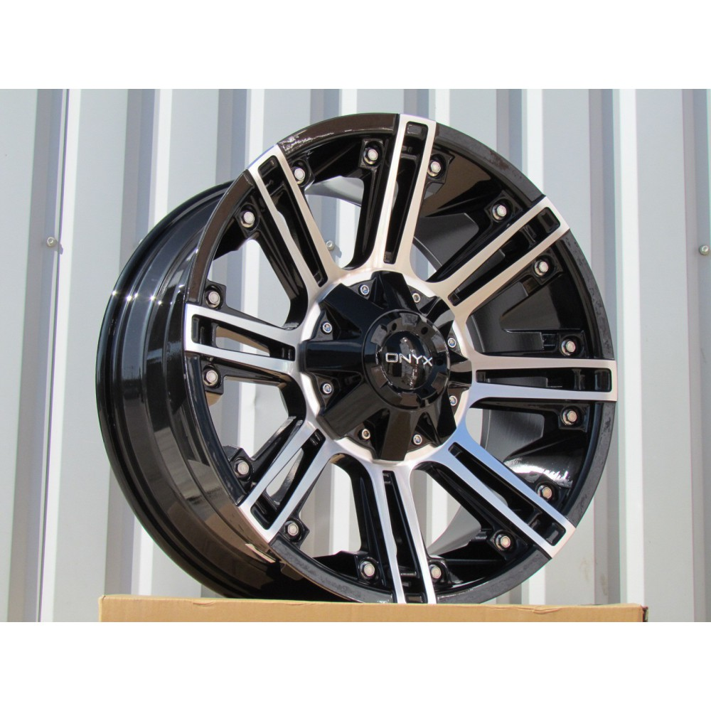 D20X9 8X165.1 ET-12 130.8 BY1047 BLACK MATT (LA-B) RWR (4x4 price+5eur)(K3)