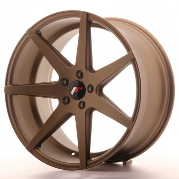 JR Wheels JR20 20x10 ET40 5x112 Matt Bronze JR20 20