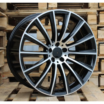 M20X9.5 5x112 ET35 66.6 BY1048 MB+Powder Coating (Rear+Front) RWR  MER (+5eur) (K7)