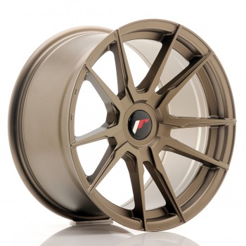JR Wheels JR21 17x9 ET25-35 BLANK Matt Bronze JR21 17