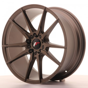 JR Wheels JR21 18x8,5 ET40 5x112/114 Matt Bronze JR21 18
