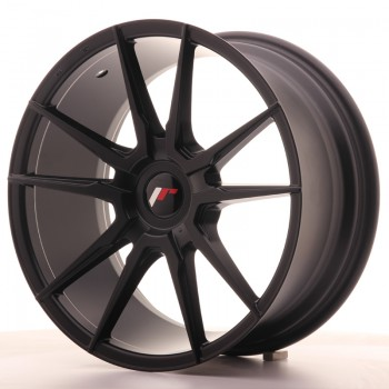 JR Wheels JR21 18x8,5 ET20-40 Blank Matt Black JR21 18