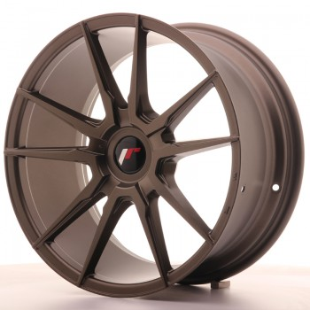 JR Wheels JR21 18x8,5 ET30-40 BLANK Matt Bronze JR21 18