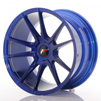 JR Wheels JR21 18x9,5 ET20-40 BLANK Platinum Blue JR21 18