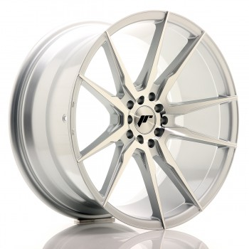 JR Wheels JR21 19x9,5 ET35 5x100/120 Silver Machined Face JR21 19