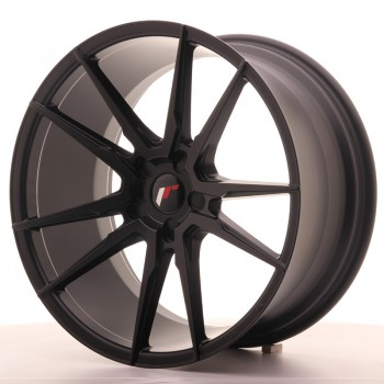 JR Wheels JR21 20x10 ET40 5H BLANK Matt Black JR21 20