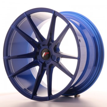 JR Wheels JR21 20x11 ET20-30 5H BLANK Platinum Blue JR21 20