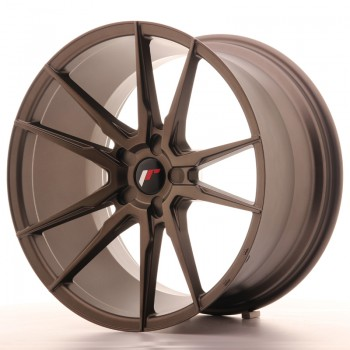 JR Wheels JR21 20x11 ET30-50 5H BLANK Matt Bronze JR21 20