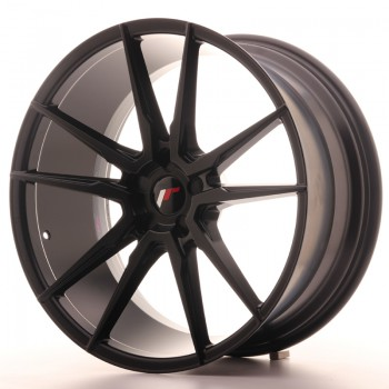 JR Wheels JR21 21x10 ET15-48 5H BLANK Matt Black JR21 21