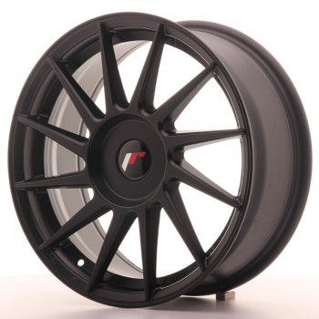 JR Wheels JR22 17x7 ET35-40 BLANK Matt Black JR22 17