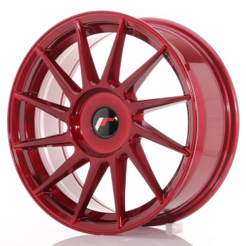 JR Wheels JR22 17x7 ET35-40 BLANK Platinum Red JR22 17