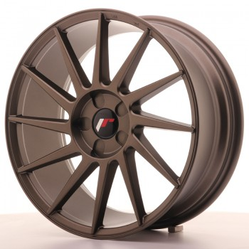 JR Wheels JR22 18x7,5 ET35-40 5H BLANK Matt Bronze JR22 18