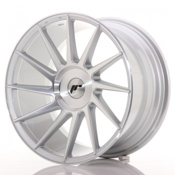 JR Wheels JR22 18x9,5 ET20-40 BLANK Silver Mach JR22 18