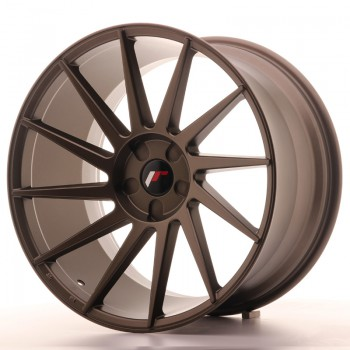 JR Wheels JR22 20x11 ET20-40 5H BLANK Matt Bronze JR22 20