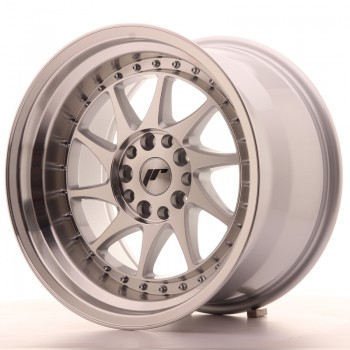 JR Wheels JR26 17x10 ET20 5x114/120 Silver Machined Face JR26 17