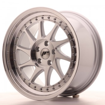 JR Wheels JR26 18x9,5 ET35 5x120 Silver Machined Face JR26 18