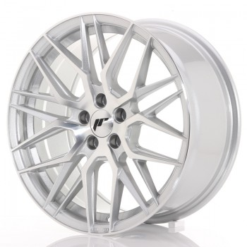 JR Wheels JR28 17x8 ET35 5x100 Silver Machined Face JR28 17