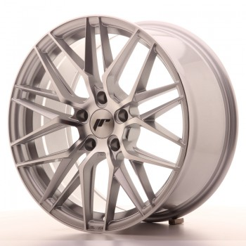 JR Wheels JR28 18x8,5 ET40 5x112 Silver Machined Face JR28 18