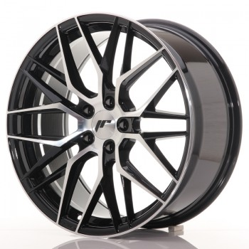JR Wheels JR28 19x8,5 ET40 5x114.3 Gloss Black Machined Face JR28 19
