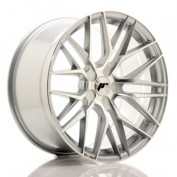 JR Wheels JR28 19x9,5 ET20-40 5H BLANK Silver Machined Face JR28 19