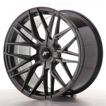 JR Wheels JR28 20x10 ET20-40 5H BLANK Hyper Black JR28 20