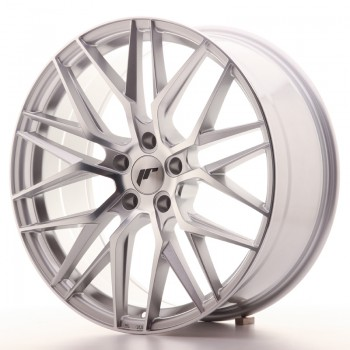 JR Wheels JR28 20x8,5 ET30 5x120 Silver Machined Face JR28 20