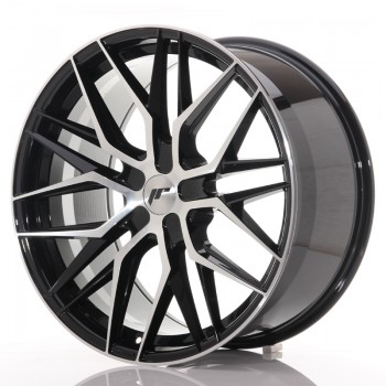 JR Wheels JR28 21x10,5 ET15-55 5H BLANK Gloss Black Machined Face JR28 21