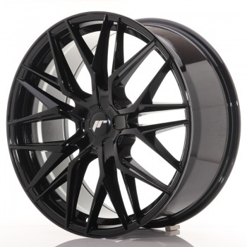 JR Wheels JR28 21x9 ET15-45 5H BLANK Gloss Black JR28 21