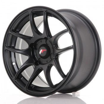 JR Wheels JR29 15x8 ET28-37 4H BLANK Matt Black JR29 15