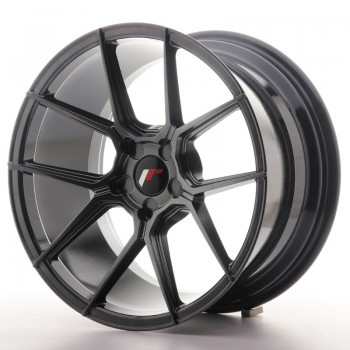 JR Wheels JR30 18x9,5 ET20-40 5H BLANK Hyper Black JR30 18
