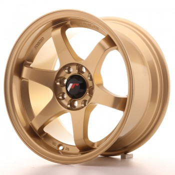 JR Wheels JR3 15x8 ET25 4x100/114 Gold JR3 15