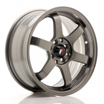 JR Wheels JR3 16x7 ET40 4x100/114 Gun Metal JR3 16
