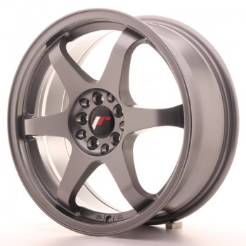JR Wheels JR3 17x7 ET40 4x100/114 Gun Metal JR3 17