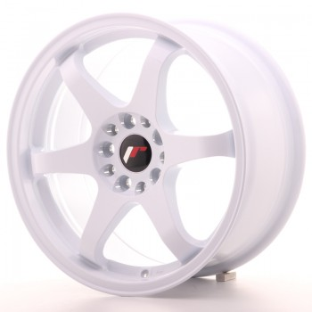JR Wheels JR3 17x8 ET35 4x100/114 White JR3 17