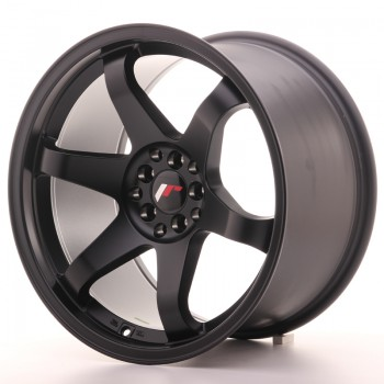 JR Wheels JR3 18x10 ET25 5x114.3/120 Matt Black JR3 18