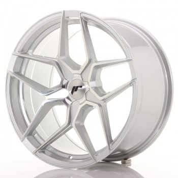 JR Wheels JR34 19x9,5 ET20-40 5H BLANK Silver Machined Face JR34 19