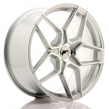 JR Wheels JR34 20x9 ET20-40 5H BLANK Silver Machined Face JR34 20