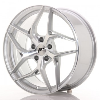 JR Wheels JR35 19x8,5 ET45 5x112 Silver Machined Face JR35 19