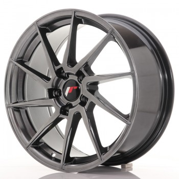 JR Wheels JR36 18x8 ET35 5x120 Hyper Black JR36 18