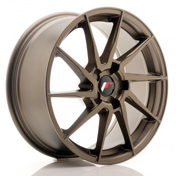 JR Wheels JR36 18x8 ET20-52 5H BLANK Matt Bronze JR36 18