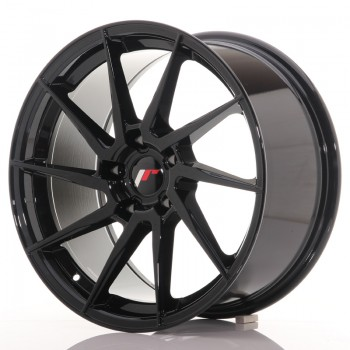 JR Wheels JR36 18x9 ET35 5x120 Gloss Black JR36 18