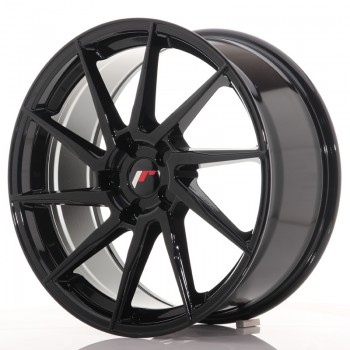 JR Wheels JR36 19x8,5 ET20-50 5H BLANK Gloss Black JR36 19