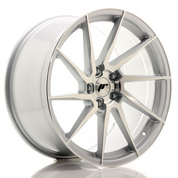 JR Wheels JR36 20x10 ET35 5x120 Silver Brushed Face JR36 20