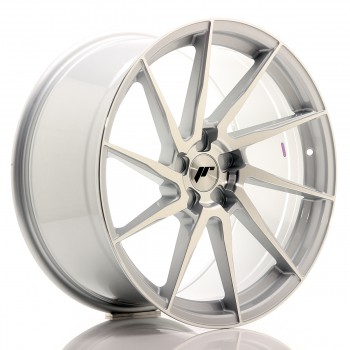 JR Wheels JR36 20x10 ET20-45 5H BLANK Silver Brushed Face JR36 20