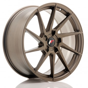 JR Wheels JR36 20x9 ET15-38 5H BLANK Matt Bronze JR36 20