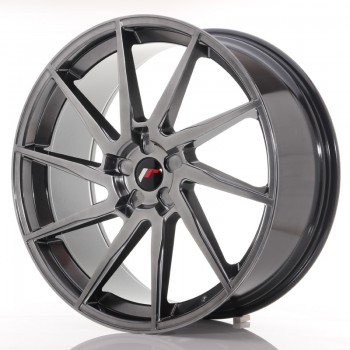 JR Wheels JR36 23x10 ET30-55 5H BLANK Hyper Black JR36 23