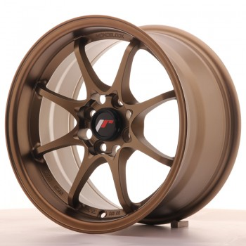 JR Wheels JR5 15x8 ET28 4x100 Dark Anodized Bronze JR5 15