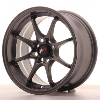JR Wheels JR5 15x8 ET28 4x100 Matt Gun Metal JR5 15