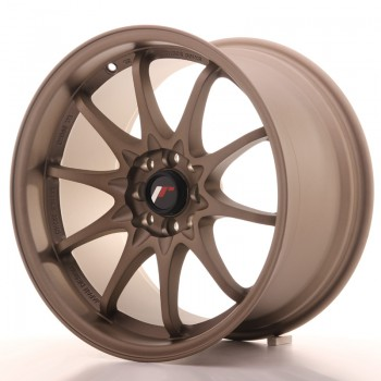 JR Wheels JR5 17x9,5 ET25 4x100/114.3 Dark Anodized Bronze JR5 17