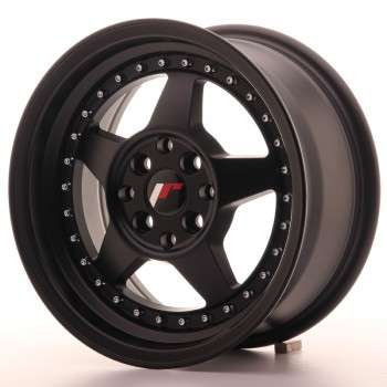 JR Wheels JR6 15x7 ET35 4x100/114 Matt Black JR6 15